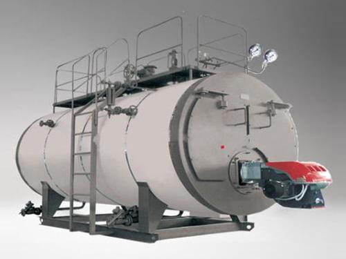 立式蒸汽锅炉采用燃烧机下置方式
